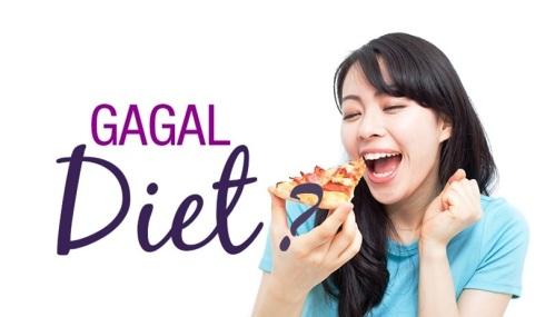 penyebab diet gagal